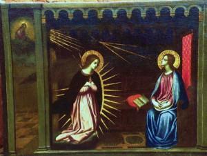 L'annunciazione presso la Chiesa di San Paolo Apostolo a Giglio Castello
