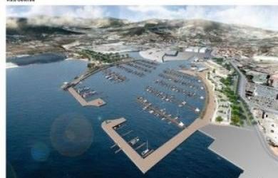 Progetto del Water Front a Portoferraio