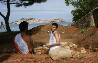 scavi archeologici a Portoferraio