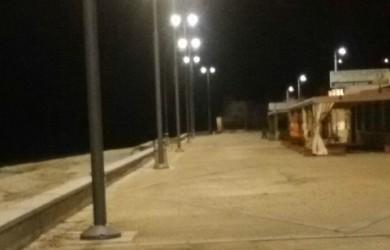 inquinamento luminoso alle ghiaie